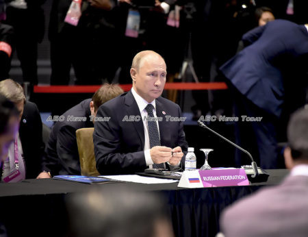 Russian President Vladimir Putin attended 3rd Asean-Russia Summit on November 14, 2018 in Singapore.