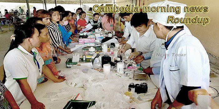 Cambodia morning news for December 10