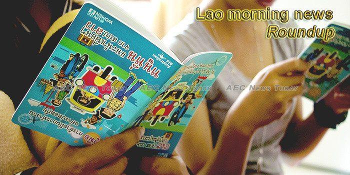 Lao morning news for December 17