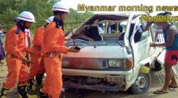 Myanmar morning news for January 2