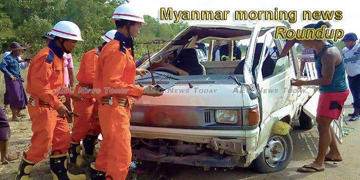 Myanmar morning news for January 4