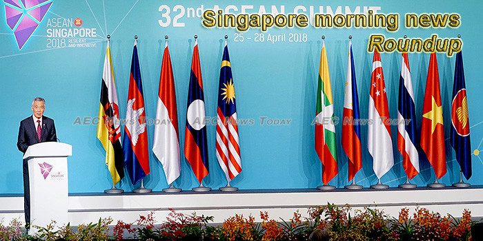 Singapore morning news for December 24