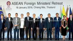 Down to work: Asean foreign ministers focus on trade, humanity, crime (video)