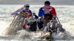 Boat races replace Thailand's elephant polo tournament