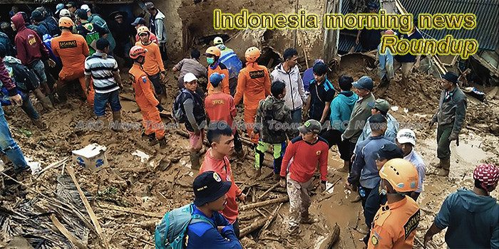 Indonesia morning news for January 7