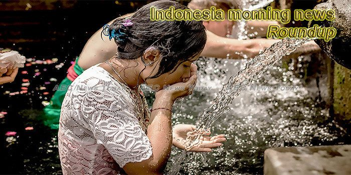 Indonesia morning news for January 15
