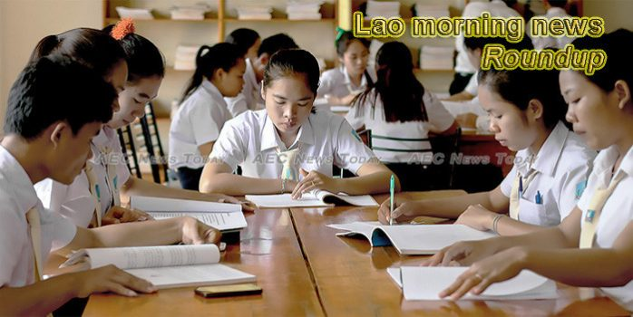 Lao morning news for January 21