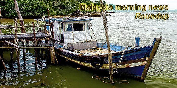 Malaysia morning news for January 18