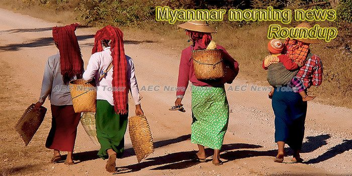 Myanmar morning news for January 11