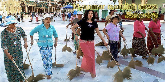 Myanmar morning news for January 14