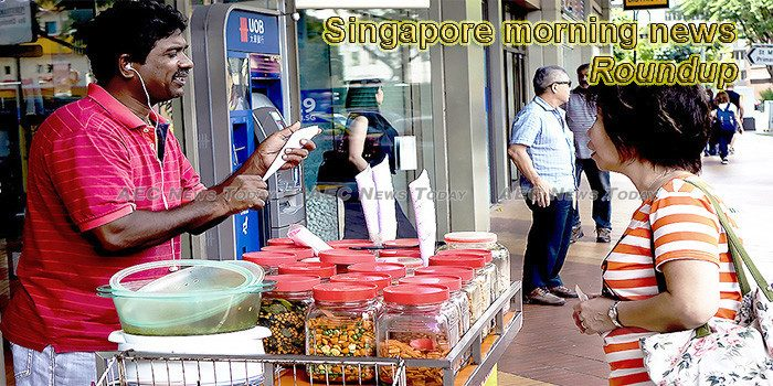 Singapore morning news for January 15