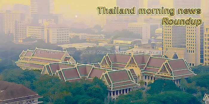 Thailand morning news for January 14