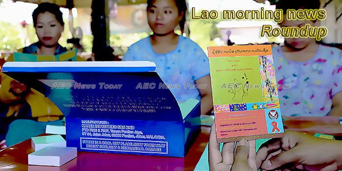 Lao morning news for March 1