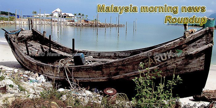 Malaysia morning news for February 18