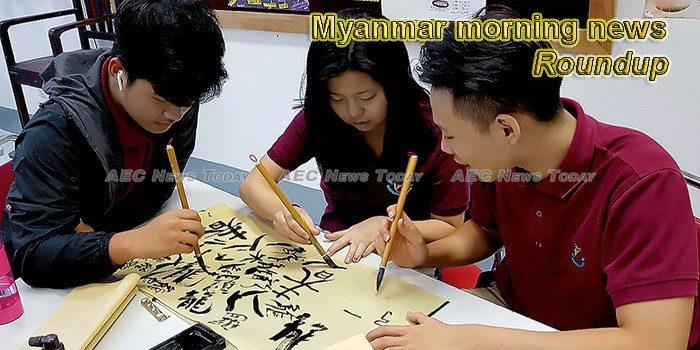 Myanmar morning news for February 8
