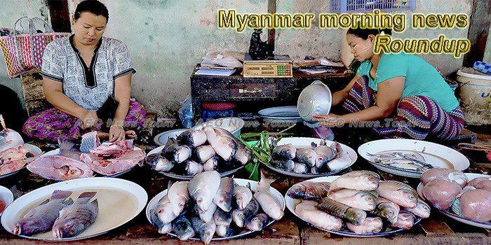 Myanmar morning news for February 21