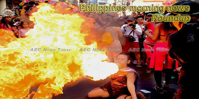 Philippines morning news for February 7