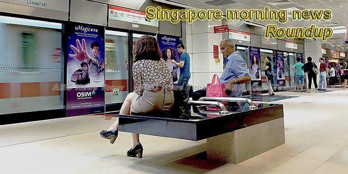Singapore morning news for February 21