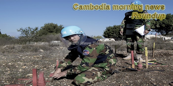 Cambodia morning news for April 1