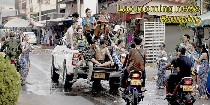 Lao morning news for March 15