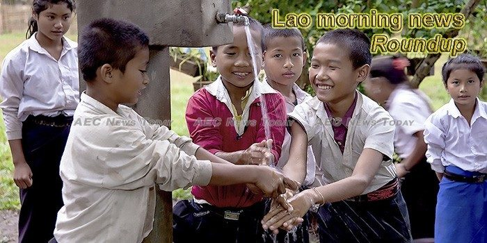 Lao morning news for March 18