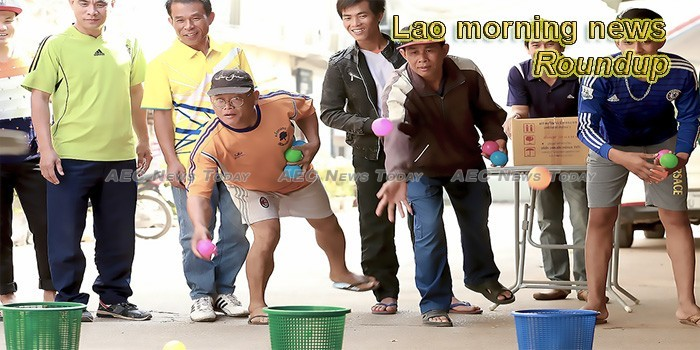 Lao morning news for March 25