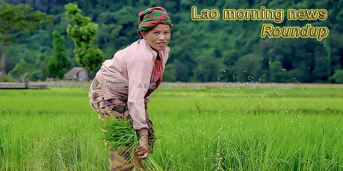 Lao morning news for March 5