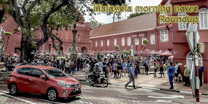 Malaysia morning news for March 12