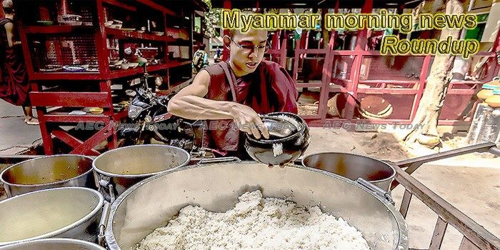 Myanmar morning news for March 13