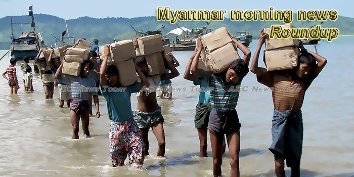 Myanmar morning news for March 28