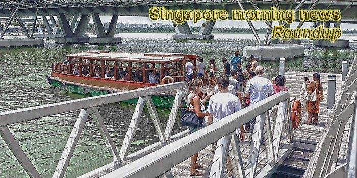 Singapore morning news for March 14