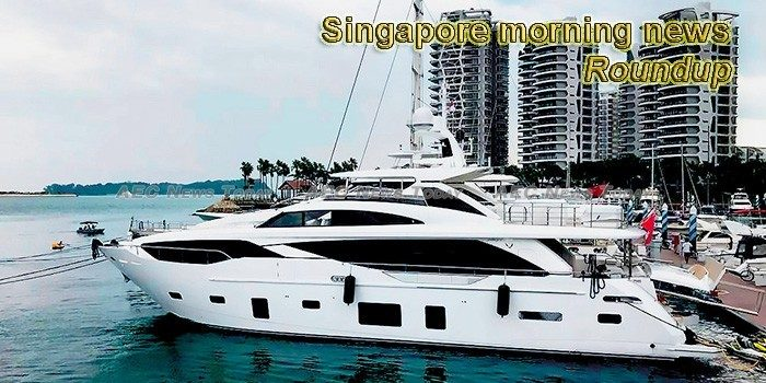 Singapore morning news for March 7