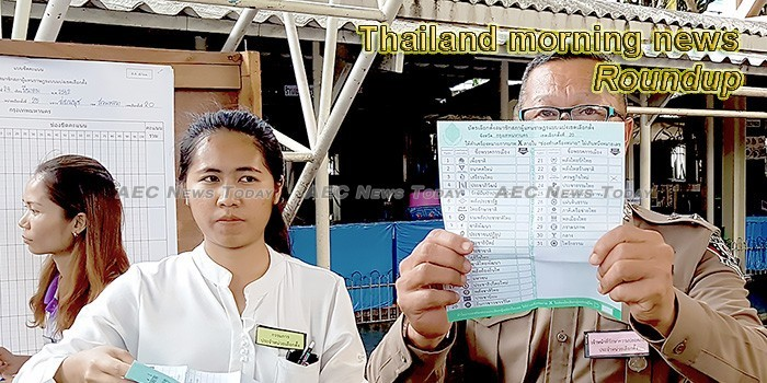 Thailand morning news for March 27