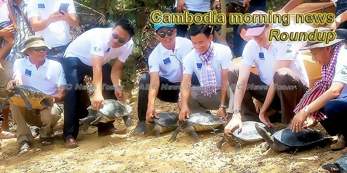 Cambodia morning news for April 30