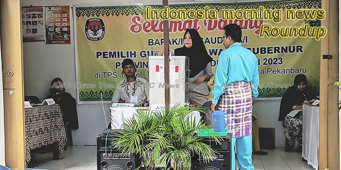 Indonesia morning news for April 17