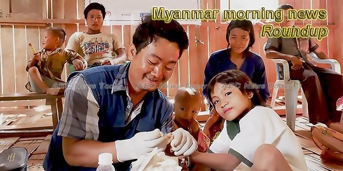 Myanmar morning news for April 24