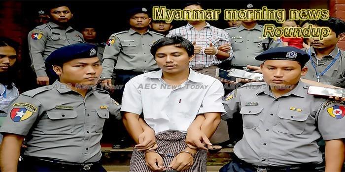 Myanmar morning news for May 1