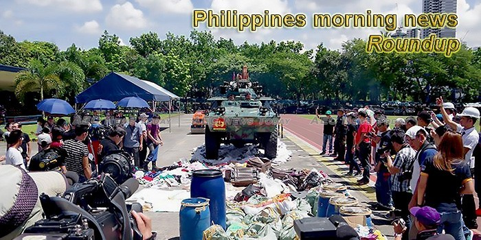 Philippines morning news for April 22