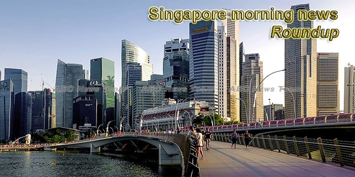 Singapore morning news for April 15