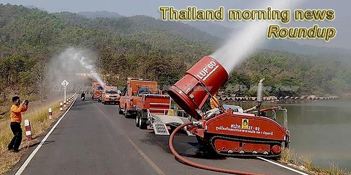 Thailand morning news for April  22