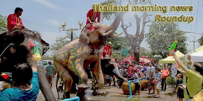 Thailand morning news for April  16