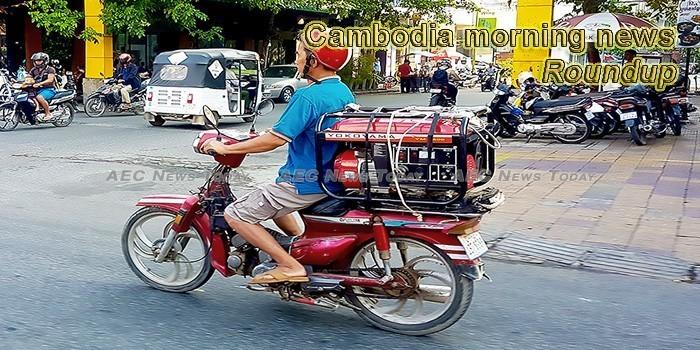 Cambodia morning news for May 8