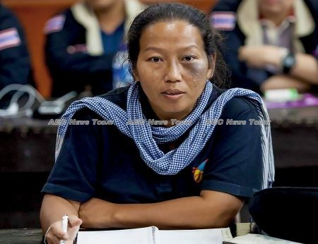 Patima Tungpuchayakul, co-founder of the Labour Rights Promotion Network (LPN)