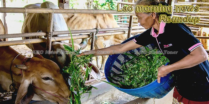 Lao morning news for May 7