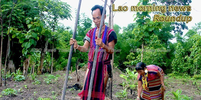 Lao morning news for May 15