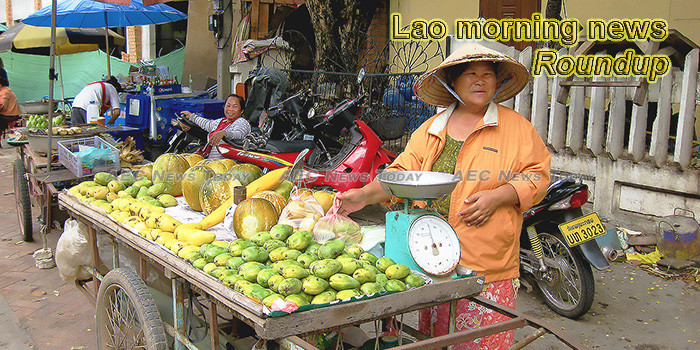Lao morning news for May 24