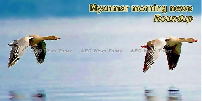 Myanmar morning news for May 6
