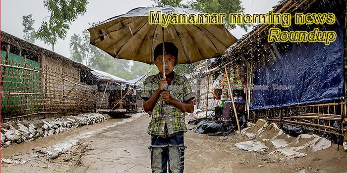 Myanmar morning news for May 27
