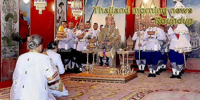 Thailand morning news for May 7