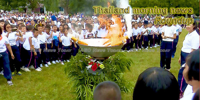 Thailand morning news for May 28